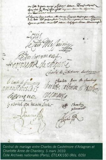 Mariage de d'Artagnan