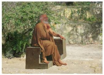 Myson sage de la Grèce Antique