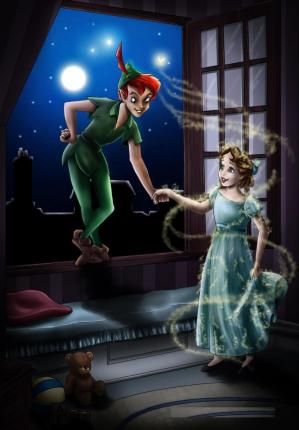 Peter Pan et Jane