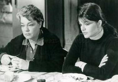 les granges brulées -Signoret et sa fille Catherine