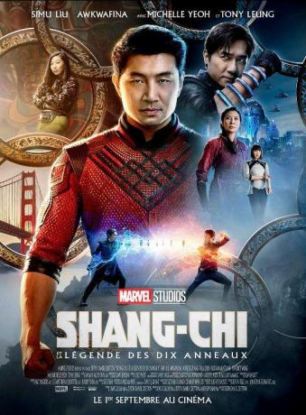 Shang-Chi l'affiche