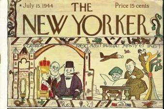 The new yorker 1944 bayeux tapisserie